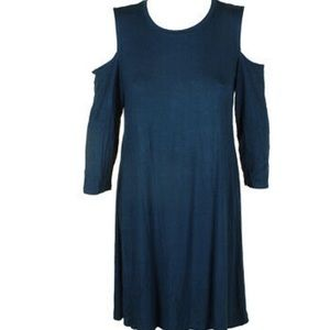 Style & Co | soft teal dress
